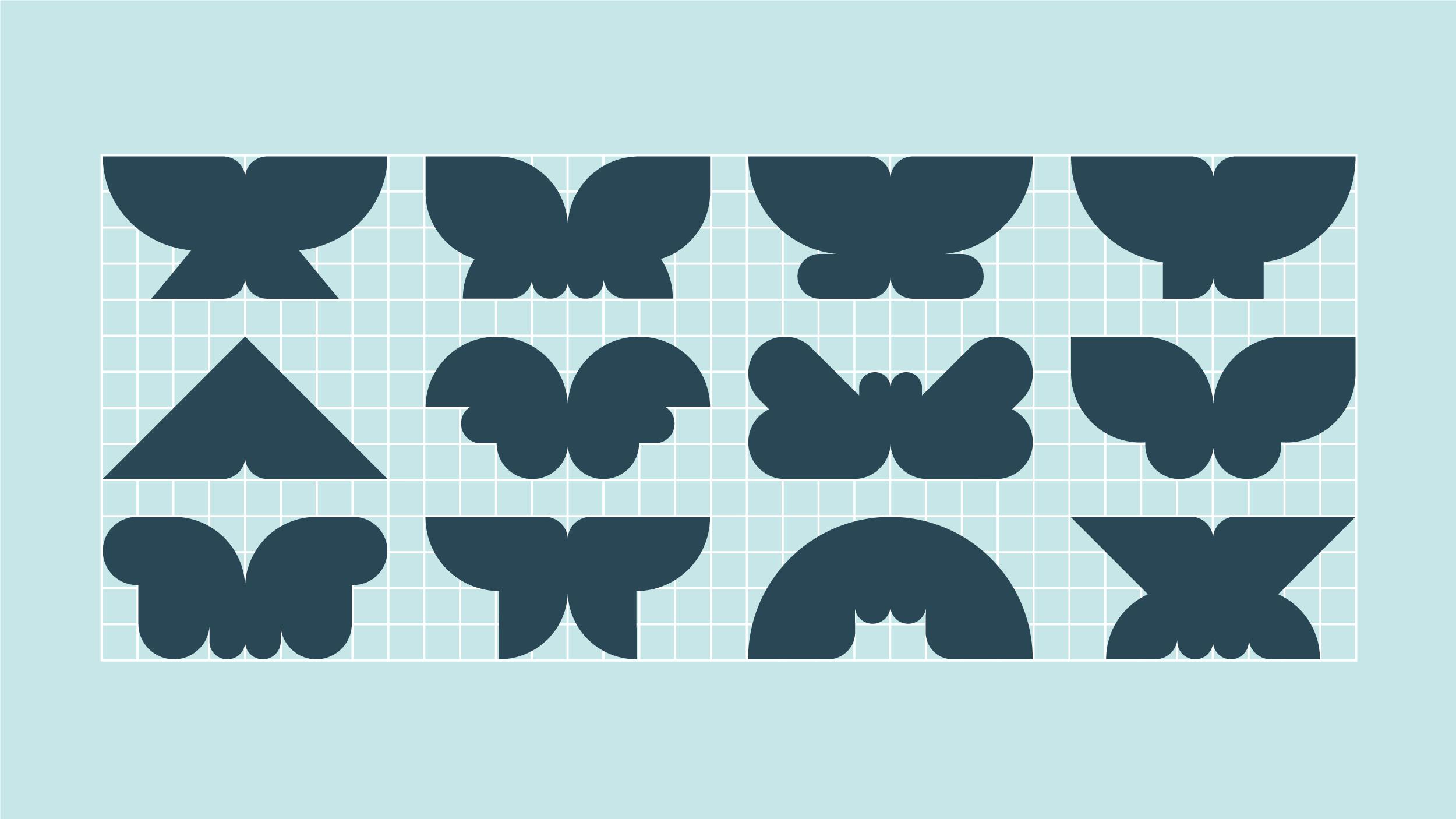 Lentolan identiteetin graafiset muodot