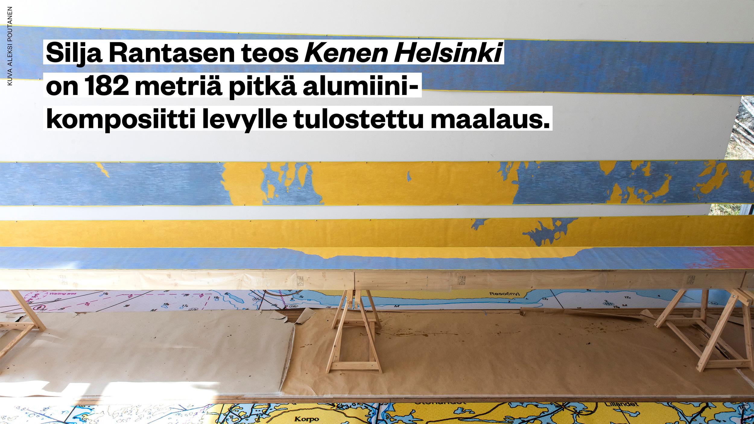 Kenen Helsinki -taideteos