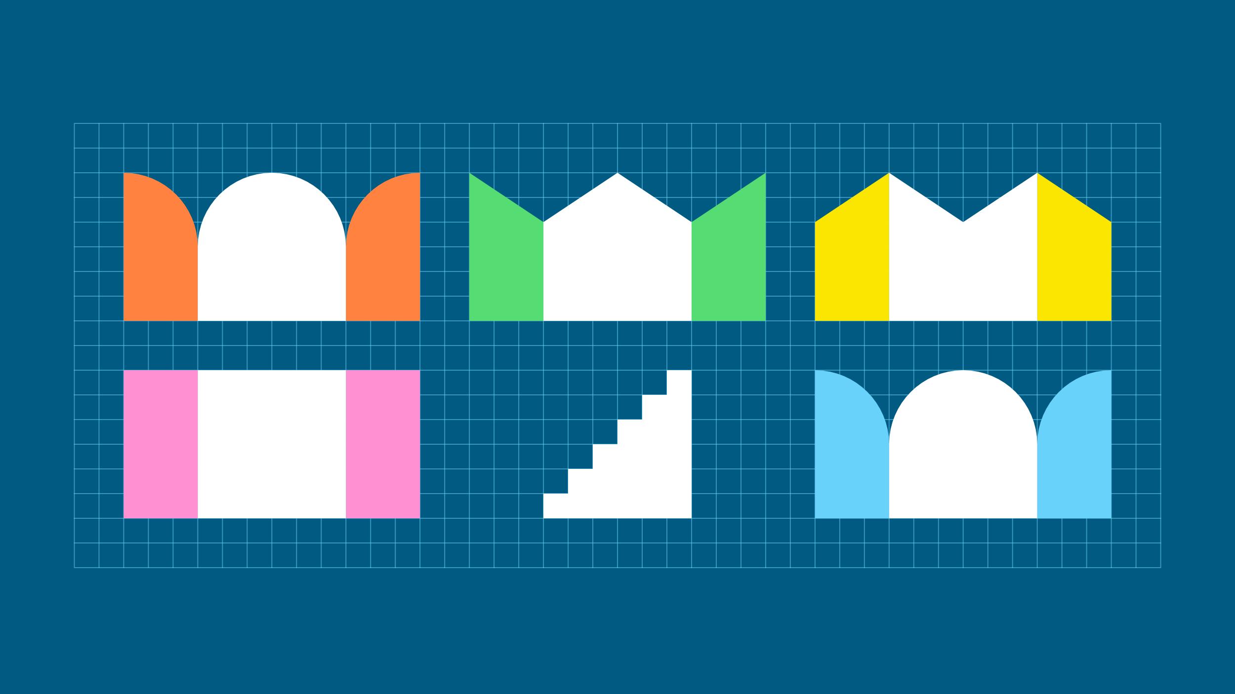 Asuntomessujen brändi-ilmeen graafiset muodot