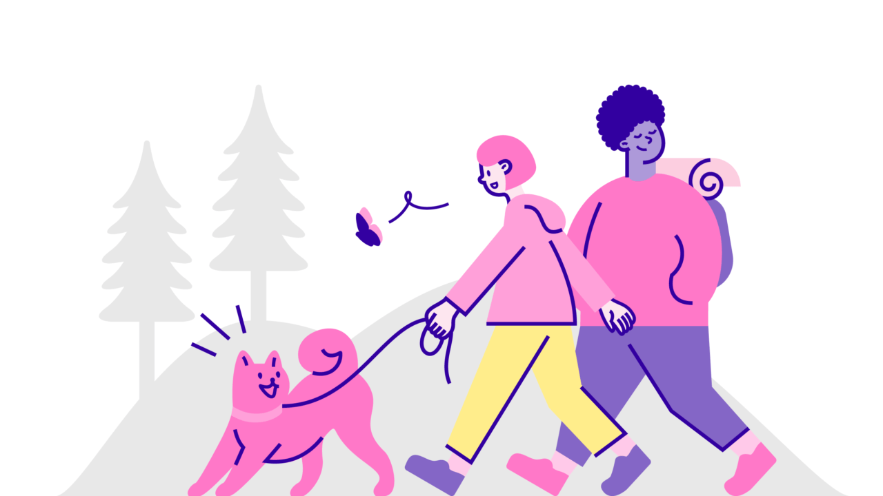 Reilu siirtymä -kampanjasivun kuvitukset