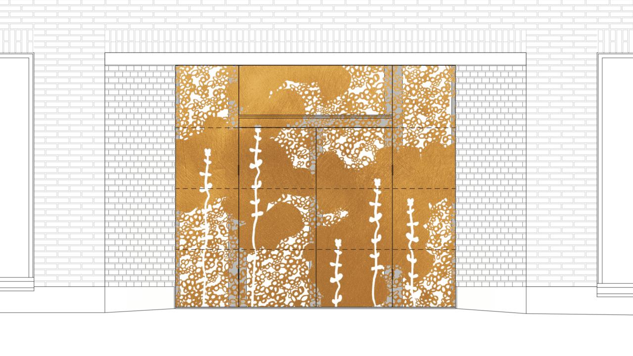 Pegasoksenaukion muurin reliefi