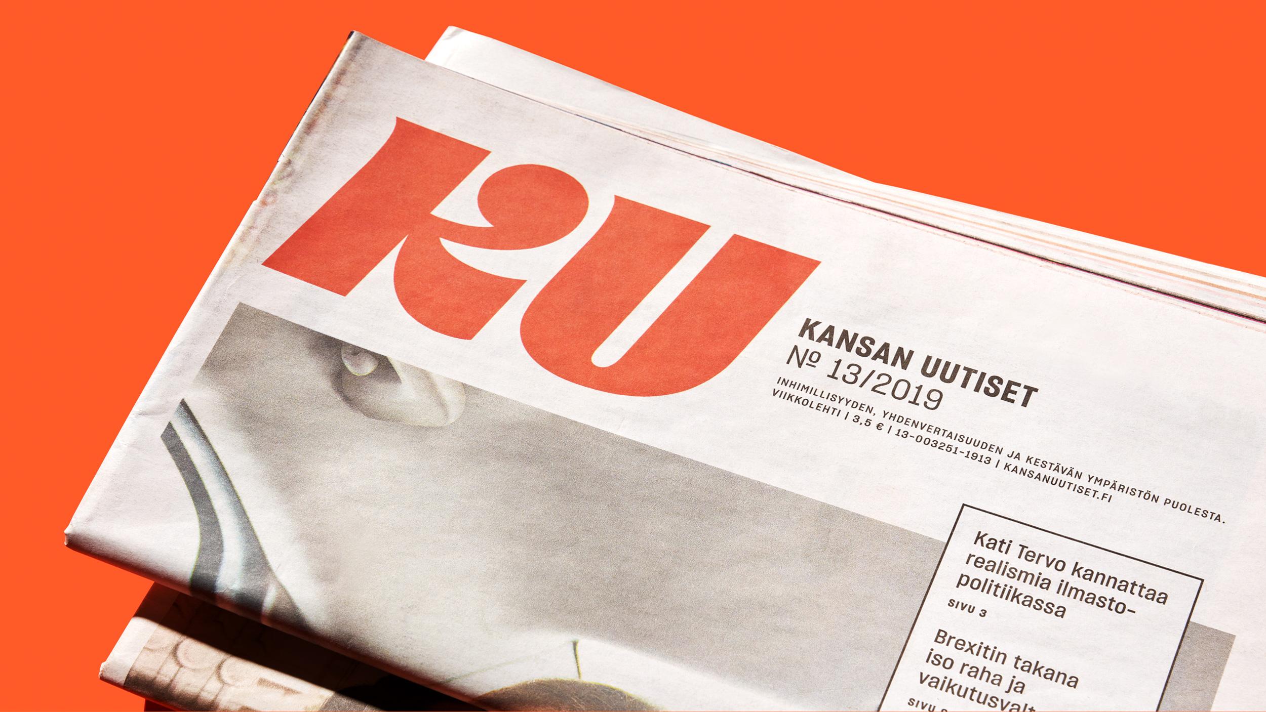 Kansan Uutisten lehtiuudistus tavoitteli lukijakunnan laajentamista